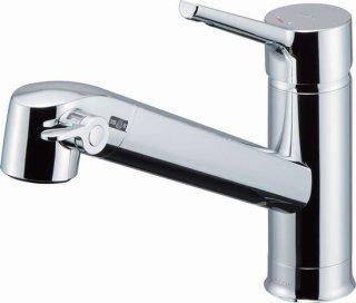 INAX JF-AF442SYX(JW) 浄水タイプ キッチンシャワー水栓 台付シングルレバー混合栓 ワンホールタイプ 一般地用