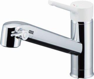 INAX JF-AG442SYX(JW) 浄水タイプ キッチンシャワー水栓 台付シングルレバー混合栓 ワンホールタイプ 一般地用