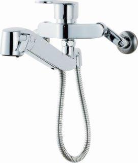 INAX JF-AH437SY(JW) キッチン用浄水器内蔵水栓 壁付シングルレバー混合栓 オールインワンタイプ 一般地用
