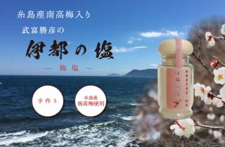伊都の塩「梅塩」小瓶