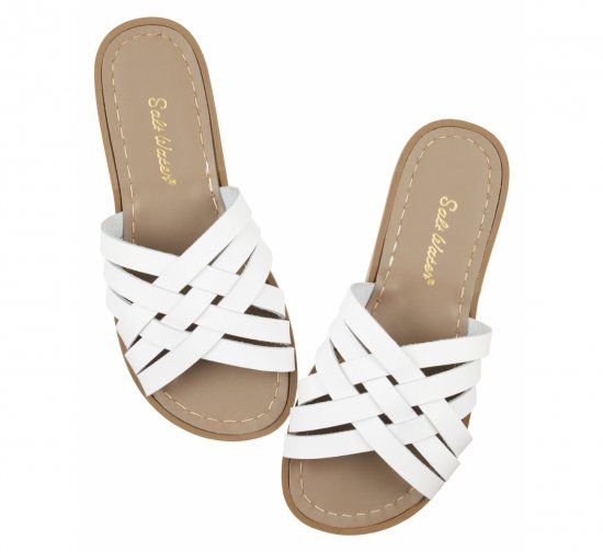 Retro Slide White<br> (Women)