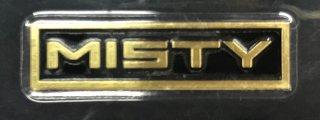 ミスティ 真鍮製エンブレム