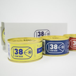 八戸サバ缶バーギフト用ボックス(3個用)