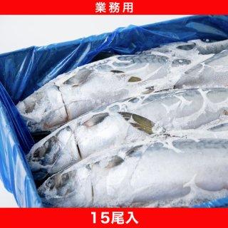 冷凍真鯖 15尾