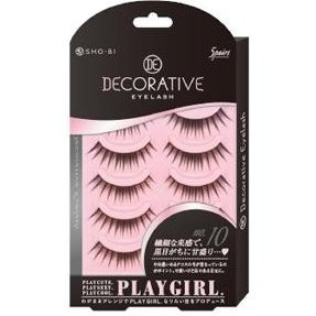 DECORATIVE EYELASH PLAY GIRL 上まつ毛用 No.10 SE85542|管理5-A