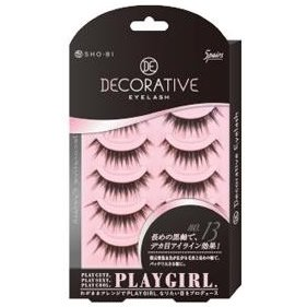 DECORATIVE EYELASH PLAY GIRL 上まつ毛用 No.13 SE85545|管理5-A