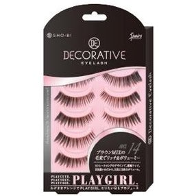 DECORATIVE EYELASH PLAY GIRL 上まつ毛用 No.14 SE85546|管理5-A