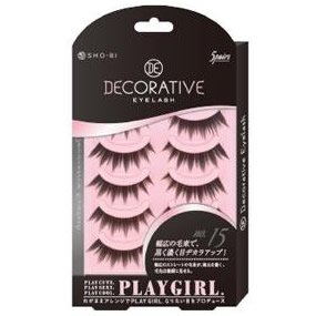 DECORATIVE EYELASH PLAY GIRL 上まつ毛用 No.15 SE85547|管理5-A