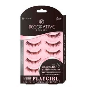 DECORATIVE EYELASH PLAY GIRL 上まつ毛用 No.19 SE85551|管理5-A