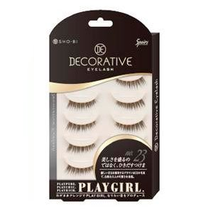 DECORATIVE EYELASH PLAY GIRL 上まつ毛用 No.23 SE85555|管理5-A