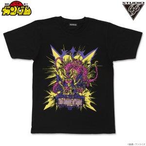 SDガンダム Tシャツ ネオブラックドラゴン&ジークジオン feat.STUDIO696