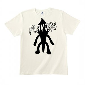 FLAVORS 【'Where The Flavors Are' Soft cream】フレーバーズTシャツ ホワイト