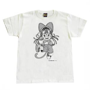 Arale T-shirt 【ねこまねき】Lサイズ