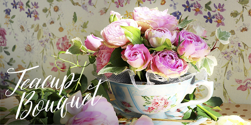 Tea cup bouquet-ティーカップブーケ-