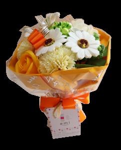 【ソープフラワー:emi】メルシーブーケM-Orange