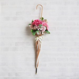 Umbrella Bouquet|Stripe