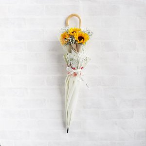 <img class='new_mark_img1' src='https://img.shop-pro.jp/img/new/icons14.gif' style='border:none;display:inline;margin:0px;padding:0px;width:auto;' />【生花】 Umbrella Bouquet|Flower Bloom(日傘)