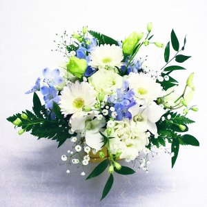 【生花】お供えアレンジメント S(1)