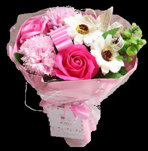 【ソープフラワー:emi】メルシーブーケM-Pink