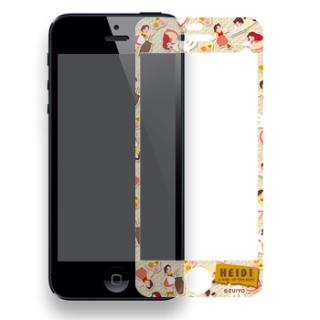 【i Phone5専用】液晶保護シール ハイジがいっぱい