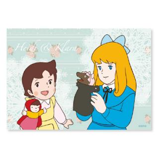 Y-53 ポストカード お人形遊び