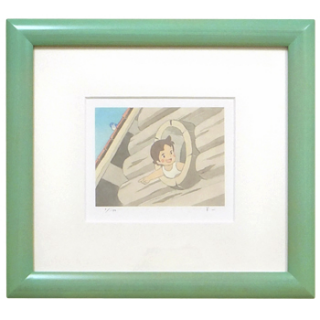 <150枚限定生産> 額装ジクレー版画(ミニ)「おはよう」