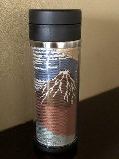 FUJIOBI タンブラー 北斎・富嶽36景シリーズ(赤富士)