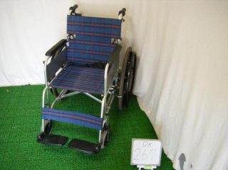ナブテスコ 電動車椅子 ハイパー型アシストホイール 自走式(電動補助装置付)※介助者必要 <背折> (DK-267)