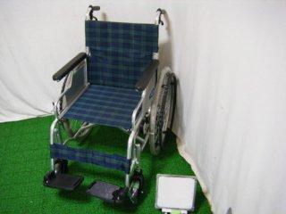 【中古車椅子】日進医療器 自走式車椅子 スリーウェイNA-M3 (WCNS215)