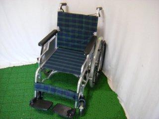 【中古車椅子】日進医療器 自走式車椅子 スリーウェイNA-M3(38幅) (WCNS215-38)