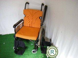【中古 車椅子】 《Sランク品》 パナソニック 自走式 リラクターンVA10051 (WCPA110)