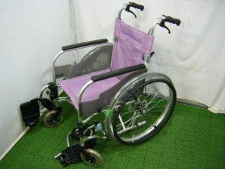 【中古車椅子】《Aランク品》松永製作所 自走式車椅子 SA-110 (WCMA223-A)