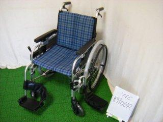 【中古車椅子】《Aランク品》ミキ 自走式車椅子  MYU-3 (WC-K710642)