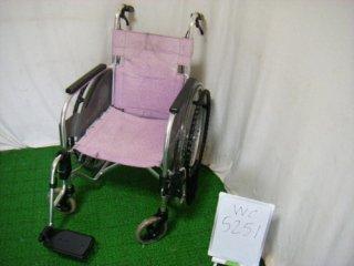 【中古車椅子】《Bランク品》松永製作所 自走式車椅子 SA-110 (WC-5251)