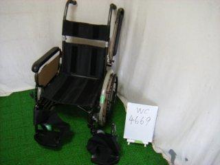 【中古 車椅子】 《Cランク品》 パナソニック 自走式 リラクターンVA10051 (WC-4669)