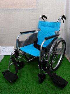 【中古車椅子】《Bランク》松永製作所 自走式車椅子 SA-111B (WC-5753)