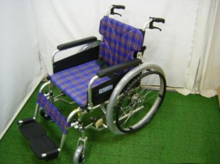 カワムラサイクル 自走式車椅子 KA822-40B (WCK218)