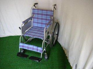 ミキ 自走式車椅子 かるがもくん(自走) M-40KDB(軽量、コンパクト、低床)(WCMI223)