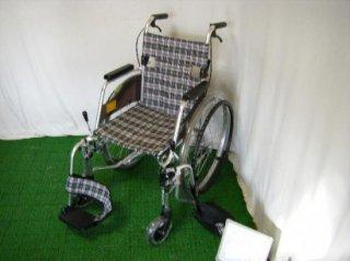 ミキ 自走式車椅子 MOCSW-43DB コンパクトタイプ (WCMI224)