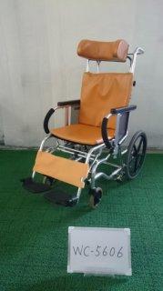 【中古車椅子】《Aランク》松永製作所 ティルト車椅子(介助)MH-2 (WC-5606)