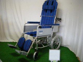 【中古車椅子】《Sランク品》カワムラサイクル RR51-NB (WCK308)