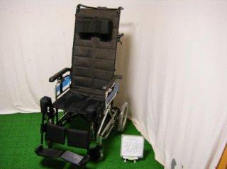 【中古車椅子】《Sランク品》ミキ グランドフリッチャー GF-sp (WC-3089)