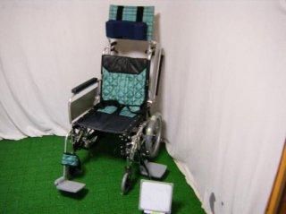 【中古車椅子】《Sランク品》ミキ ティルトウイング MWCSW-46Ti (WCMI111)