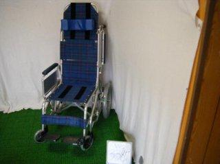 【中古車椅子】日進医療器 ティルト車椅子(介助) NAH-F1 (WC-3387)
