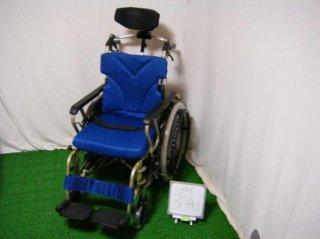 【中古車椅子】カワムラサイクル あい&ゆうきAYPF20-40 (WC-3041)