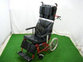 【中古車椅子】《Sランク品》カワムラサイクル KPF16-40 LO(WCK302)