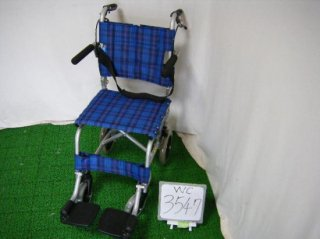 カワムラサイクル 簡易車椅子 旅ぐるま KA4-N(WC-3547)
