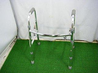 星医療酸器 固定式折畳歩行器 W-9010SI(HKHO107)