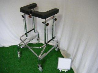 【中古歩行器】星光医療器 アルコー1S型 (HKSE102)