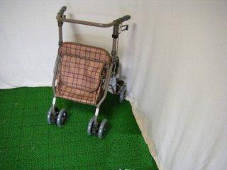 【中古歩行器】背シート欠品訳あり特価《Bランク》島製作所  シンフォニーSP  (HK-2222)